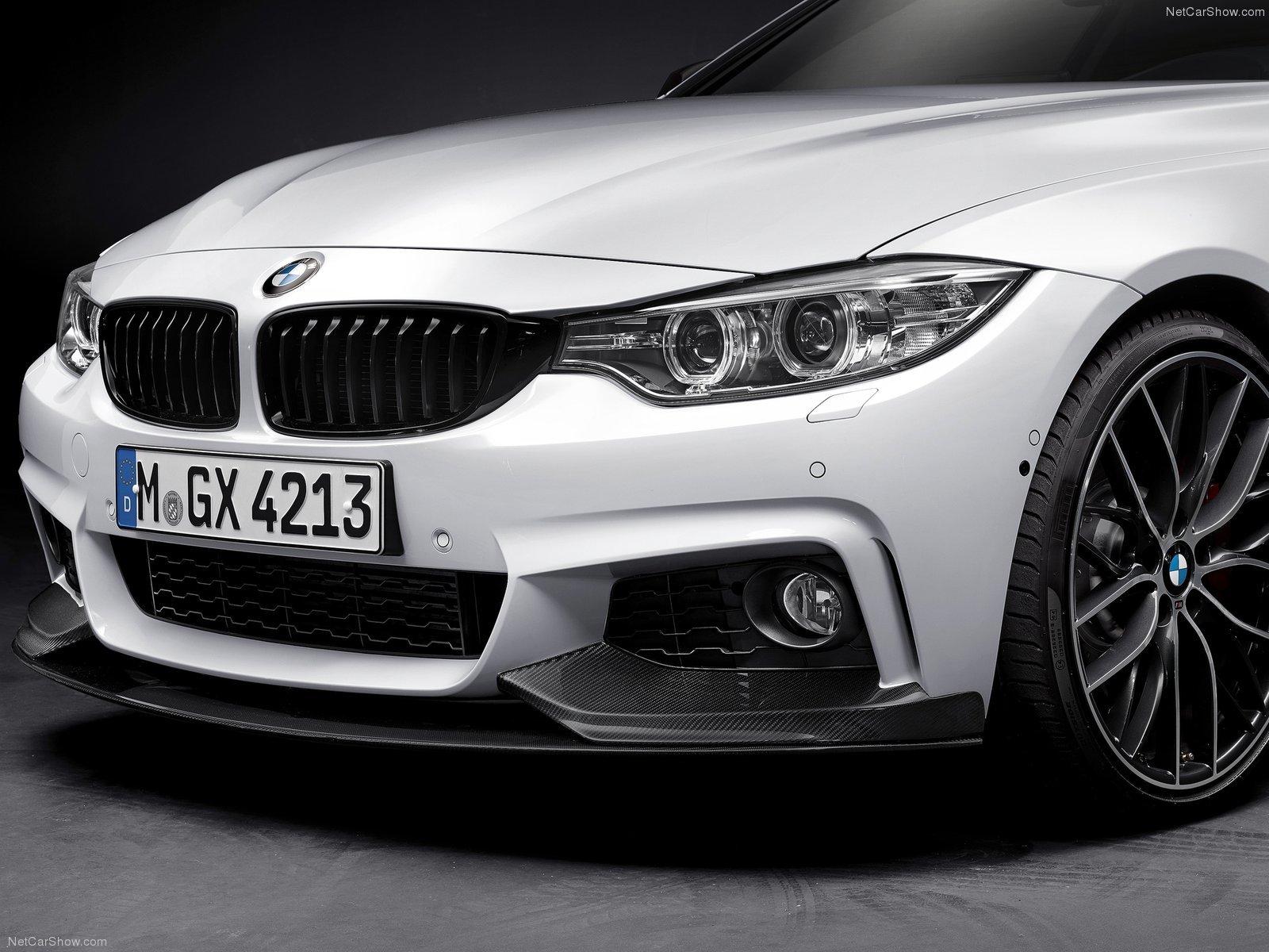 Карбоновая решетка радиатора Performance Style для BMW 4er
