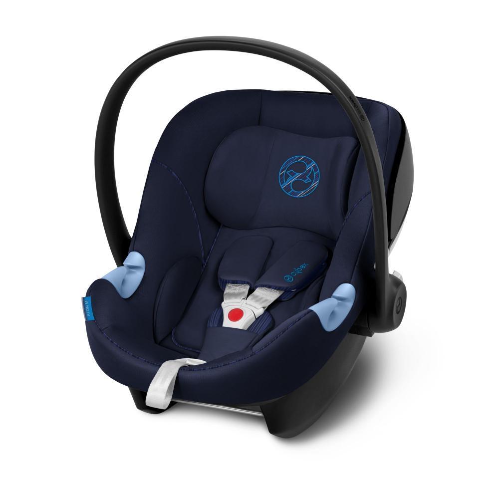 Автокресло 0+ Cybex Aton M i-Size Indigo Blue