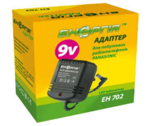 Блок питания Энергия ЕН-702 (9V,600mAh,L-Plug)