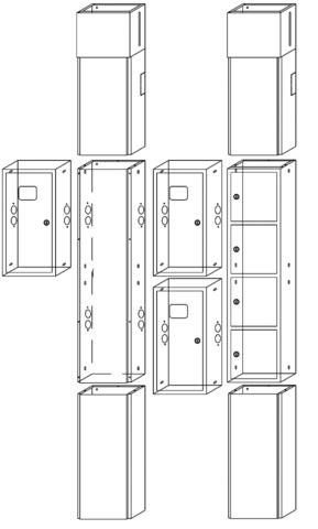 УЭРМ-31 на 3 квартиры в сборе