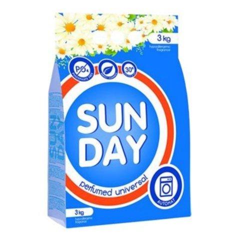 Сонца Sunday Стиральный порошок автомат Универсал Perfumed 3 кг