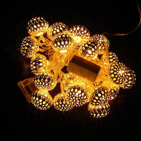 LED гирлянда полусфера новогодняя