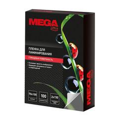 Пленка для ламинирования Promega office 70x100 мм глянцевая (100 штук в упаковке)