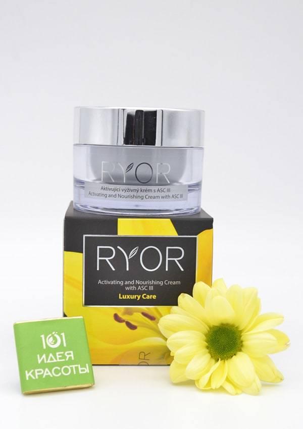Ryor Активирующий питательный ночной крем с ASC III (45+), 50мл