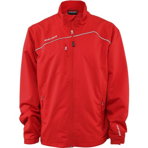 Куртка утепленная BAUER CORE HEAVY JACKET YTH S красн