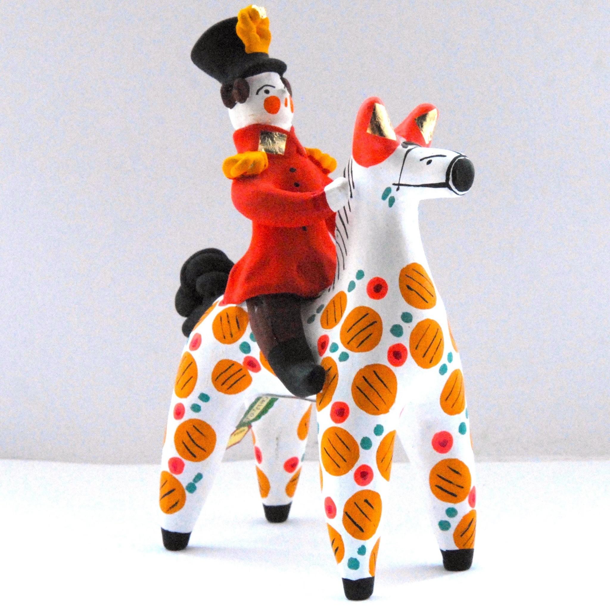 Картинки дымковских игрушек конь