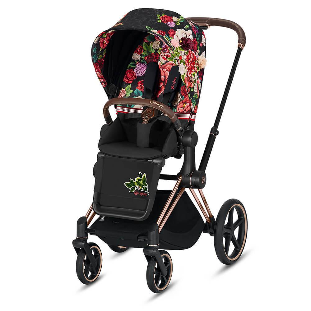 Цвета Cybex Priam прогулочная Прогулочная коляска Cybex Priam III FE Spring Blossom Dark шасси Rosegold 10378_1-PRIAM-Seat-Pack-Spring-Blossom-Dark__1_.jpg