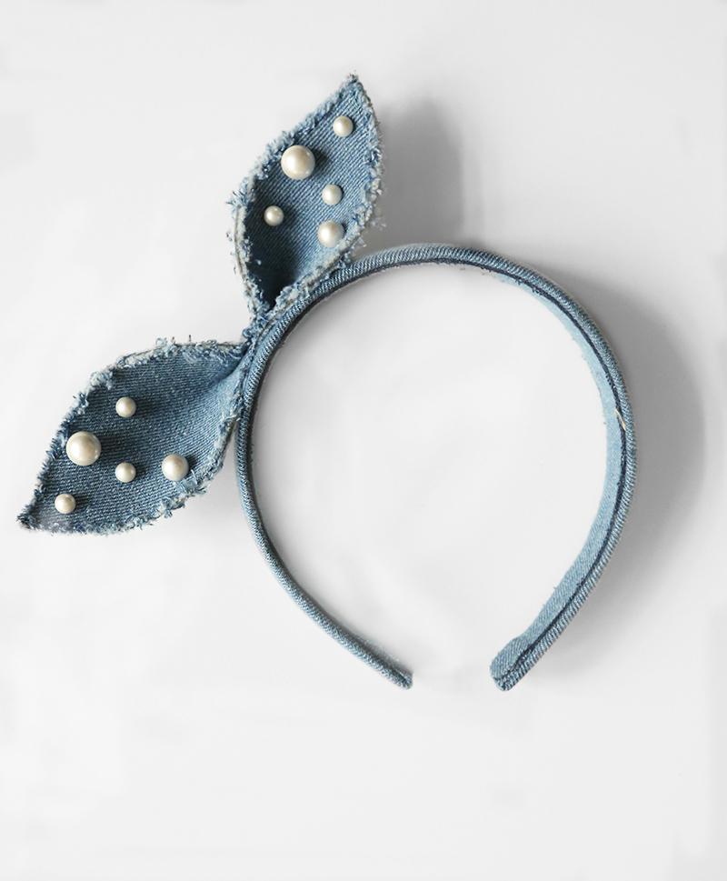 Ободок Denim Alice Bow Headband