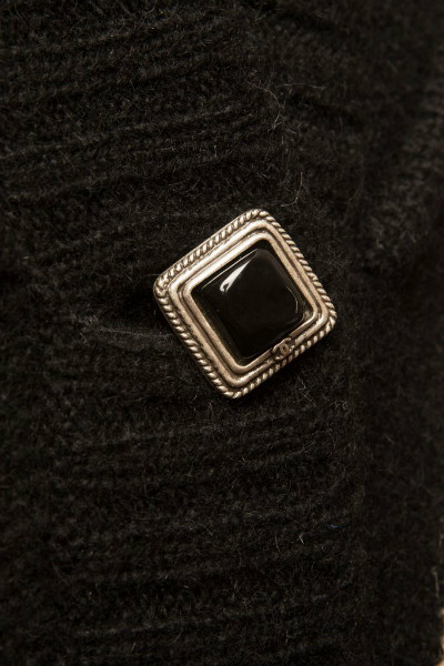 Стильный удлиненный кашемировый кардиган от Chanel, 40 размер
