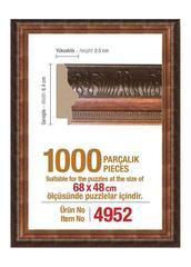 Pazl çərçivəsi (68 x 48 cm.) 4952