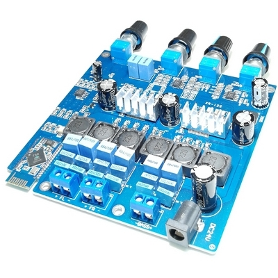 Bluetooth аудио модуль (CSR8635) + стереоусилитель 2х50 Вт (TPA3116D2)