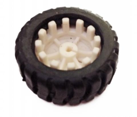 Колесо пластиковое для робо-шасси 43x19x3мм