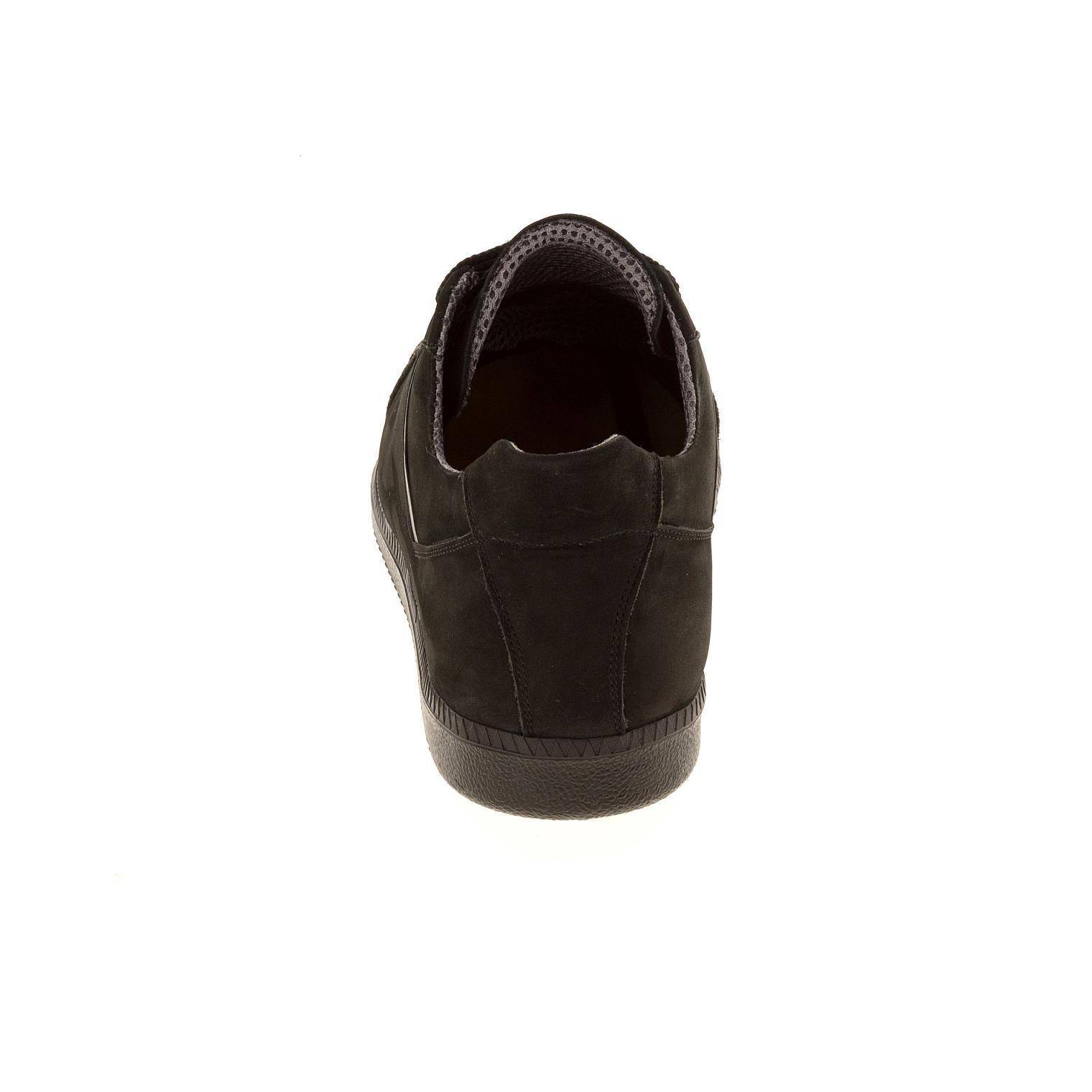 649396 полуботинки мужские черные больших размеров марки Делфино