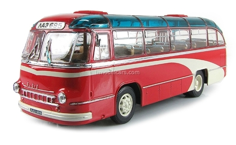 LAZ-695B Bus 1958 red Ultra Models 1:43