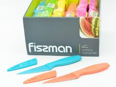 2550 FISSMAN Caramella Нож разделочный в чехле 10 см