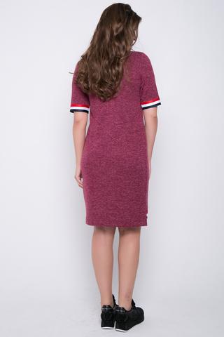 <p>Эффектное платье на каждый день из мягкого трикотажа.&nbsp; Рукав до локтя на резинке. Низ изделия по переду - декоративнвя резина.&nbsp;<span>(длина 44=89см 46=90см 48=92см 50=94см)</span></p> <p>&nbsp;</p>