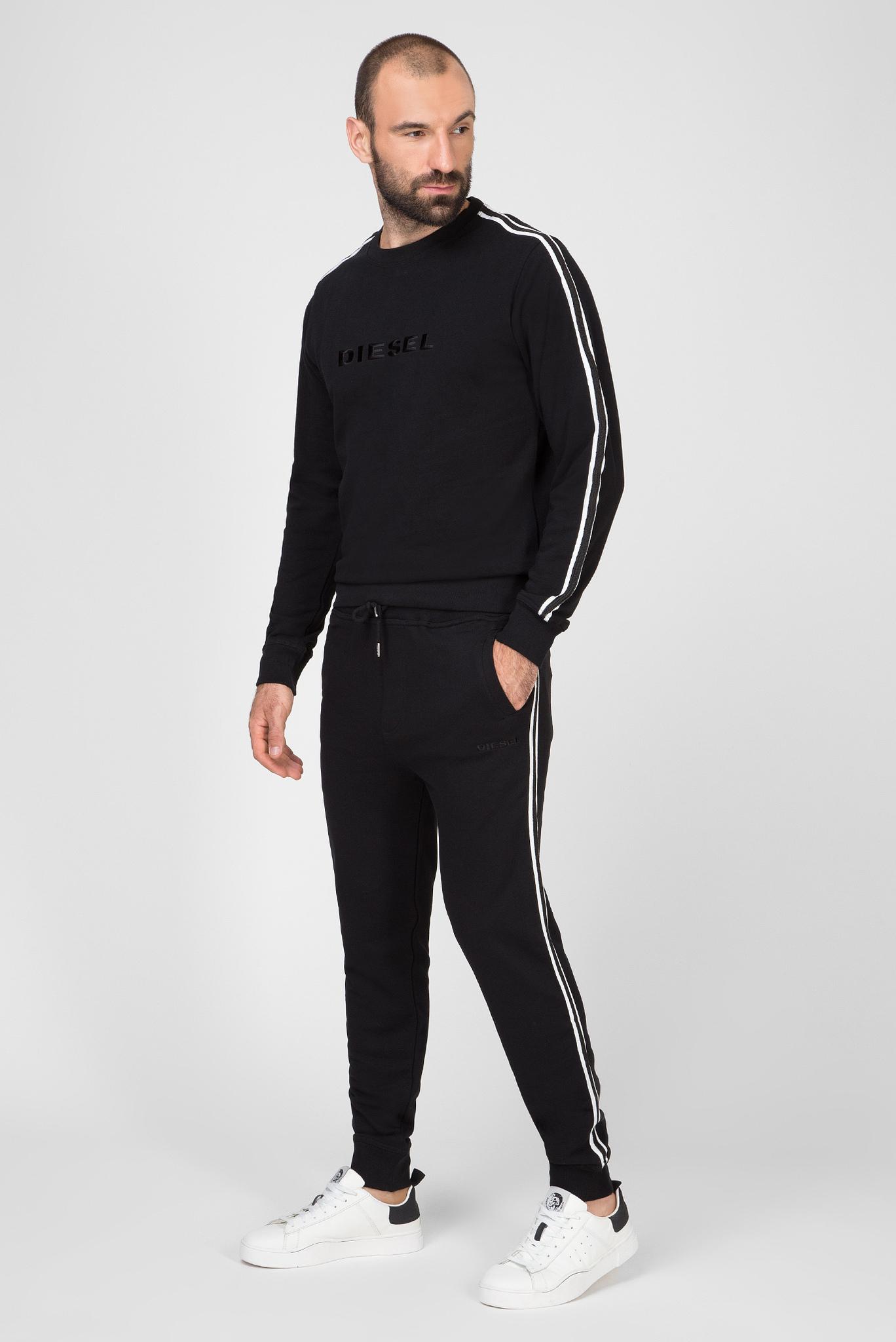 Мужские черные спортивные брюки UMLB-PETER Diesel