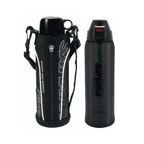 Термос Tiger MMN-W (0,8 литра), черный
