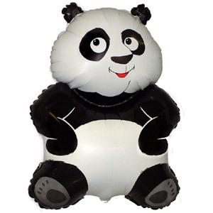 Фольгированный шар Большая Панда 83 Х 56см