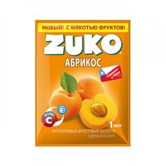 Растворимый напиток Zuko Абрикос (блок 12 пакетов)