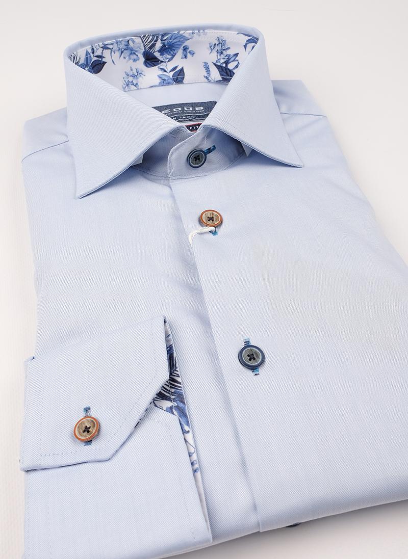 Рубашка Ledub slim fit 0138622-120-150-120