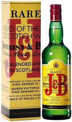 Виски J&B Rare, gift box, 0.7 л