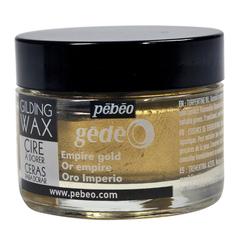 Воск (вакса) для золочения Pebeo Gedeo 30 мл Цвет Золото Ампир