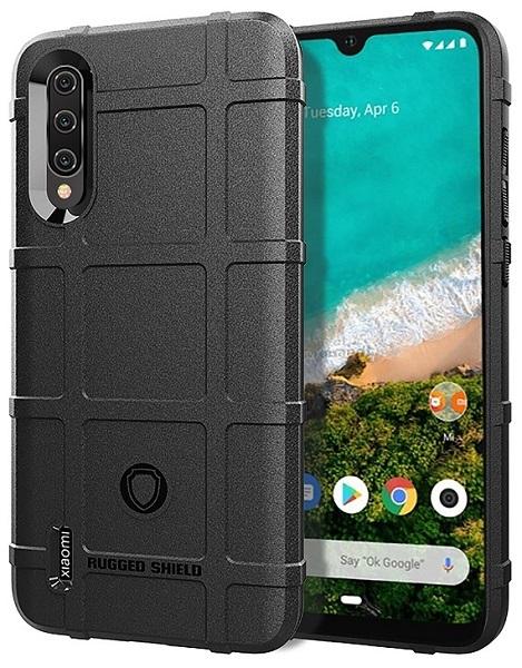 Чехол Xiaomi Mi 9 Lite (A3 Lite, CC9) цвет Black (черный), серия Armor, Caseport