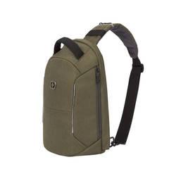Рюкзак-антивор однолямочный Swissgear хаки