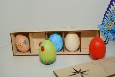 057-1437 Набор пасхальных яиц (5 шт.) Большой