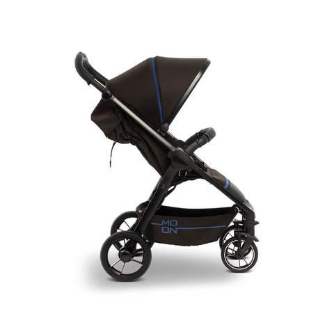 Прогулочная коляска Moon Jet-R Blue Black (603) 2020