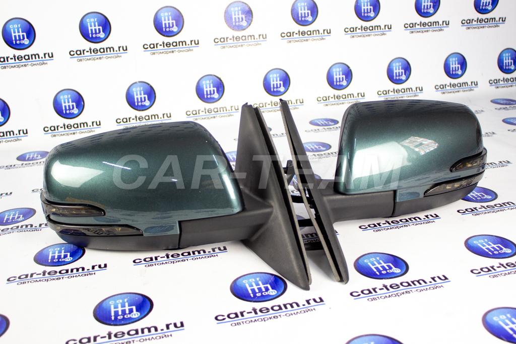 Боковые зеркала в стиле Mercedes AMG c тонированным повторителем на Лада Приора, ВАЗ 2110-12, окрашенные, электропривод