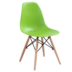 Стул деревянный Эймс (Eames) PC-015 green
