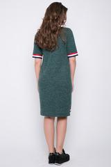 <p>Эффектное платье на каждый день из мягкого трикотажа.&nbsp; Рукав до локтя на резинке. Низ изделия по переду - декоративнвя резина.&nbsp;<span>(длина 44=89см 46=90см 48=92см 50=94см)</span></p>