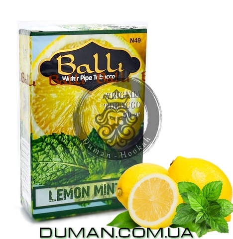 Табак Balli LEMON MINT (Балли Лимон Мята)