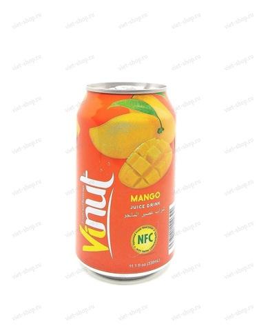 Вьетнамский напиток с соком манго, Vinut, 330 мл.