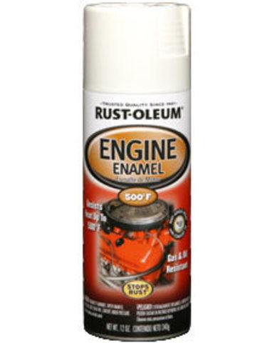 Engine Enamel термостойкая краска спрей до 260°,глянцевая