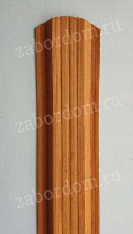 Евроштакетник металлический 115 мм Тик П - образный 0.5 мм