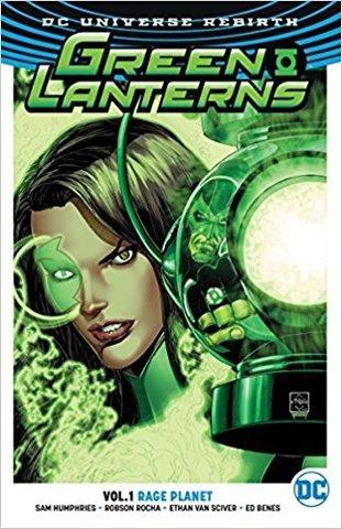 Green Lanterns Vol 1 Rage Planet (Rebirth)
