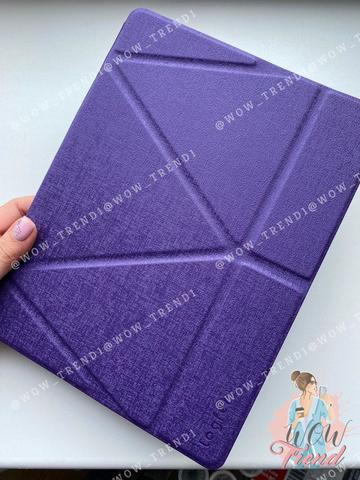 Чехол Origami Case iPad mini 1/2/3/4/5 Leather embossing /purple/