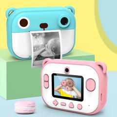 детский фотоаппарат сразу печатающий фото