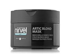 NIRVEL artic blond mask маска для восстановления, увлажнения волос и поддержания холодных оттенков блонд 250 мл