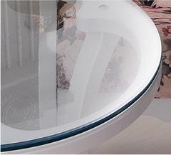 Скатерть круглая прозрачная  102 см. 1 мм.