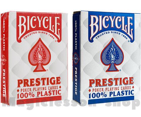 Карты Bicycle Prestige 100% пластик