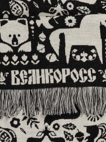 Сказки Брянского Леса чёрно-белый № 1.2 (С бахромой)
