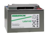 Аккумулятор Marathon L 6V110 ( 6V 112Ah / 6В 112Ач ) - фотография