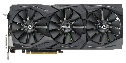 Видеокарта Asus GeForce GTX 1080 Ti ROG-STRIX-GTX1080TI-O11G-GAMING