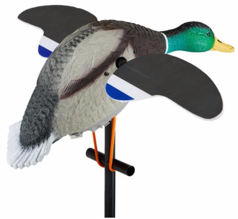 Чучело кряквы с вращающимися крыльями Lucky Junior II (селезень)