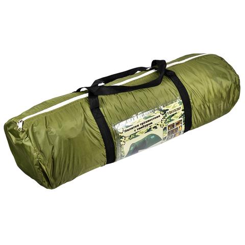 Палатка трехместная, с тамбуром, двухслойная