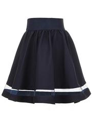 2231-2 юбка детская, темно-синяя